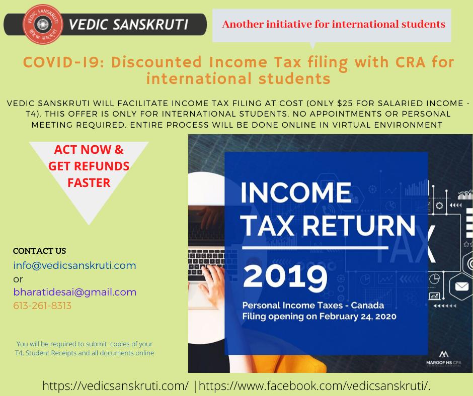 Tax Filing Poster